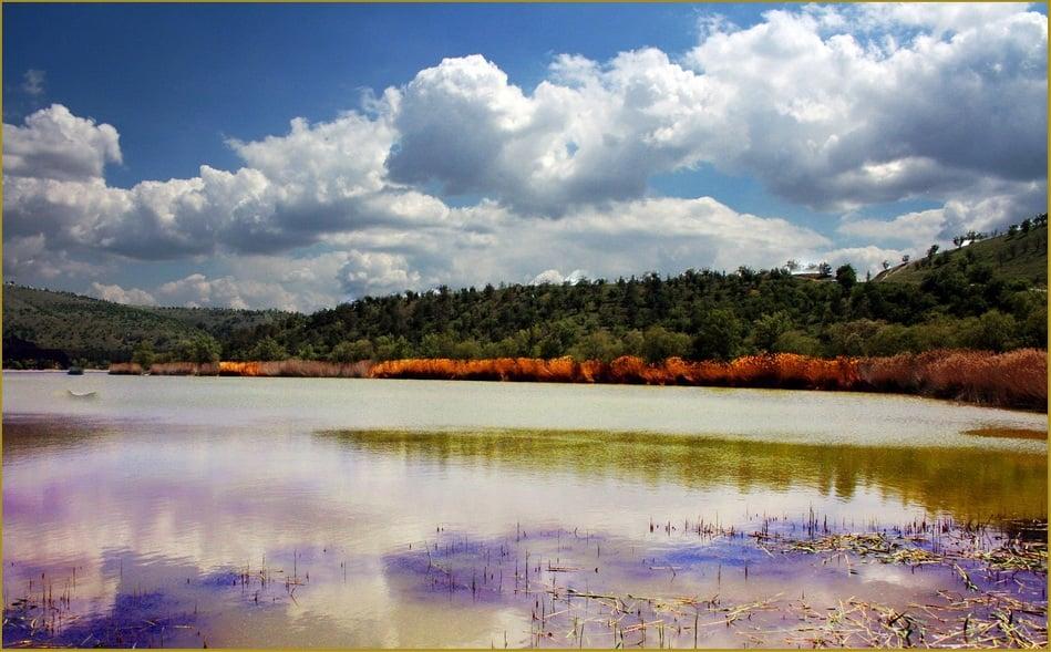 eymir gölü manzaraları