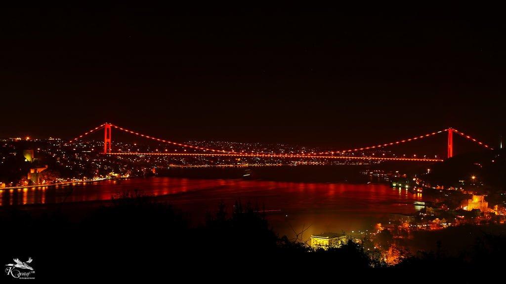 fatih sultan mehmet köprüsü manzaraları