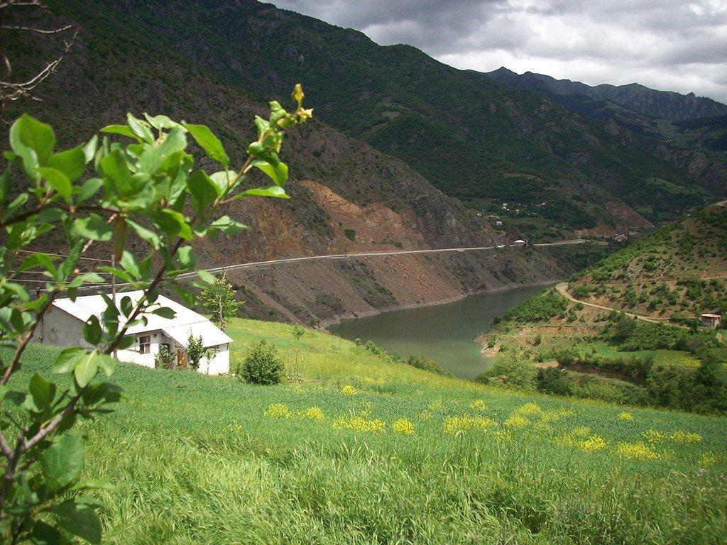 gümüşhane araköy köyü – yeşil tepeler