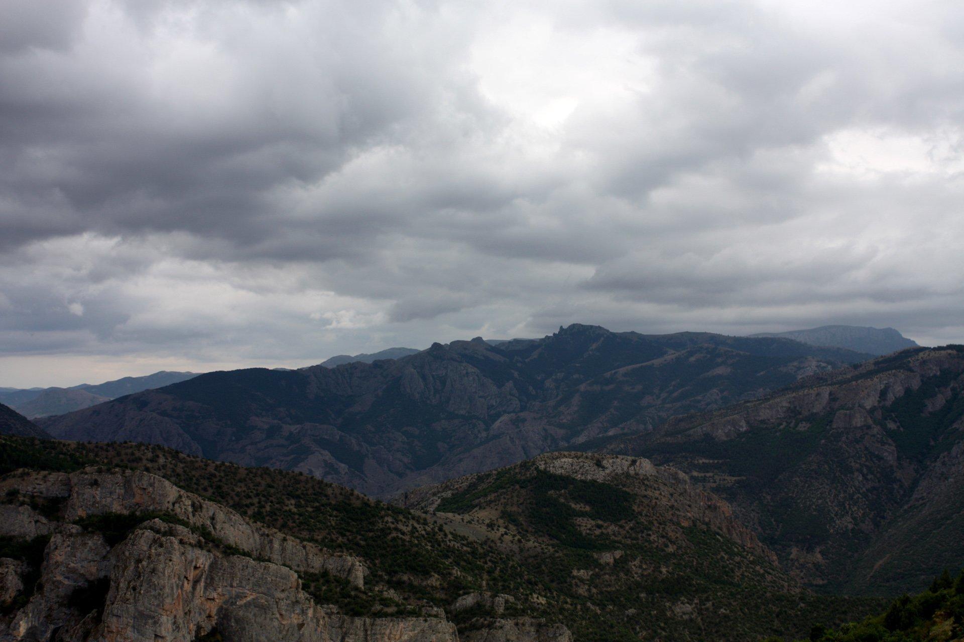 gümüşhane dağları