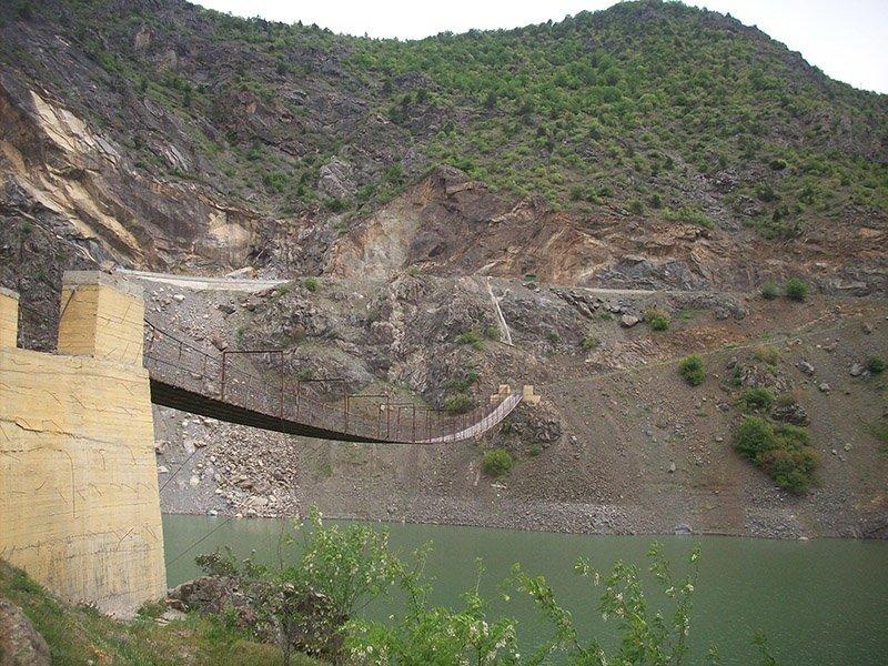 gümüşhane kürtün taş köprü