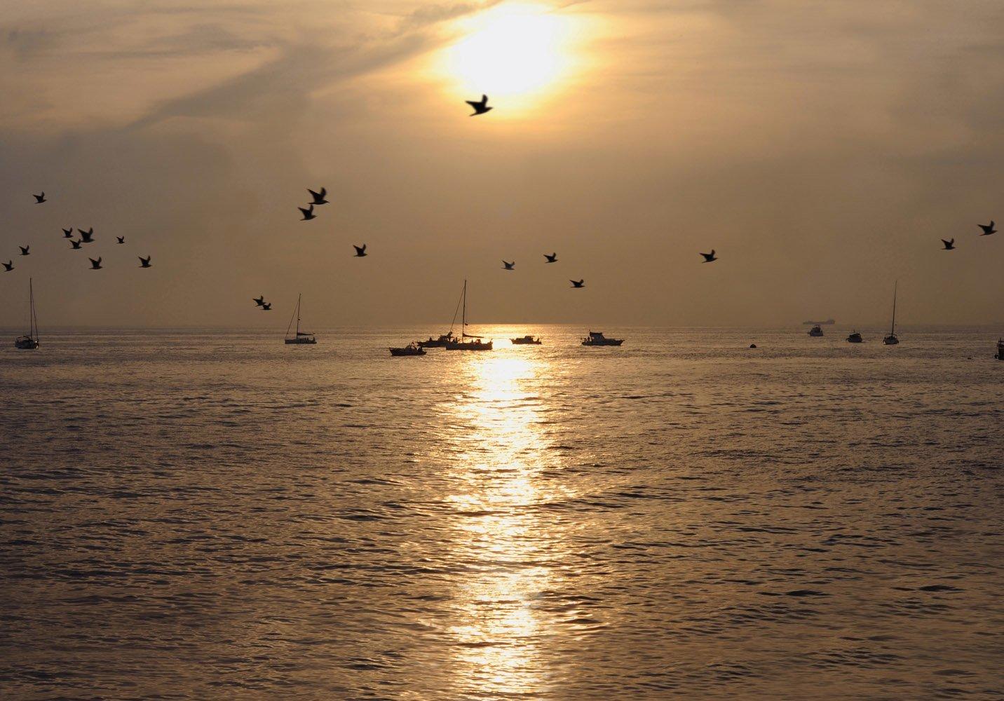 gün batımı görüntüsü