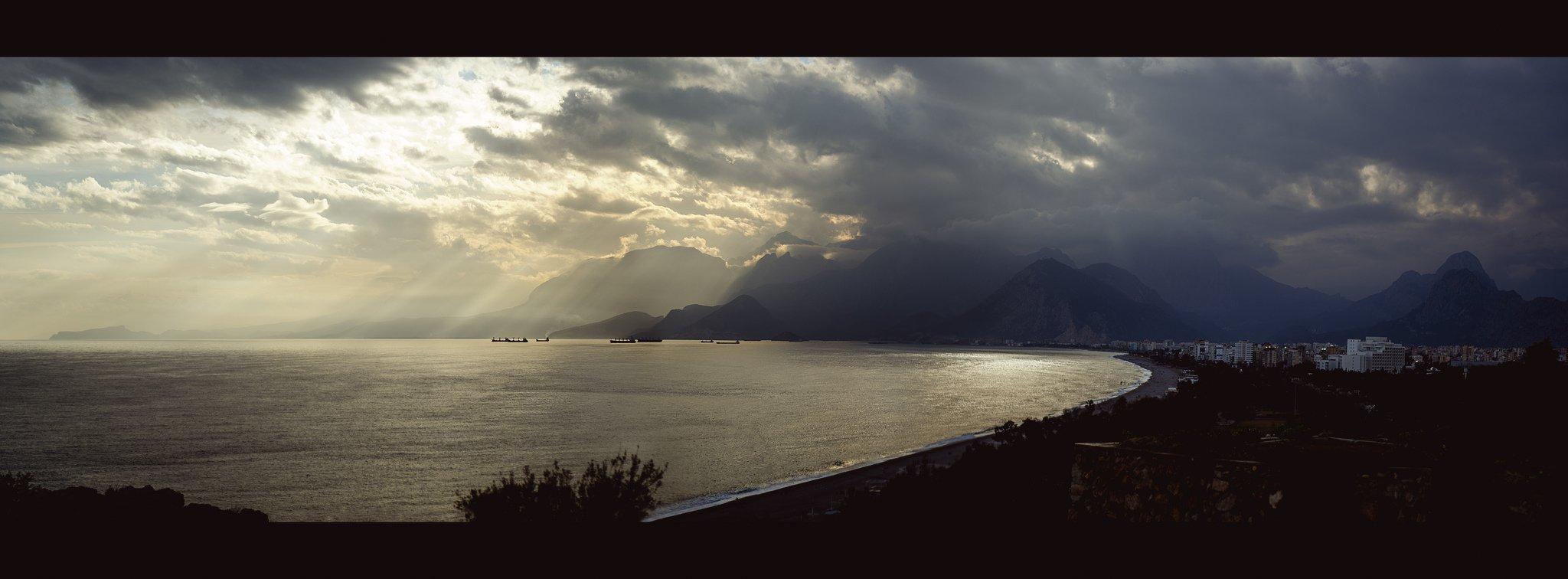 gün batımı panoraması