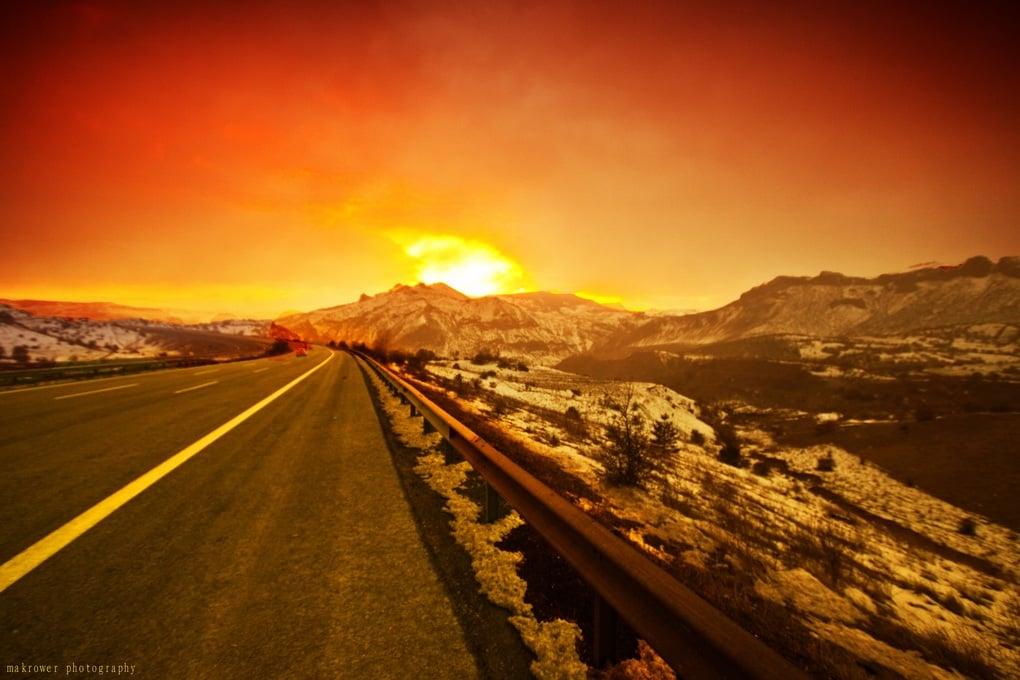 güneş ve yol