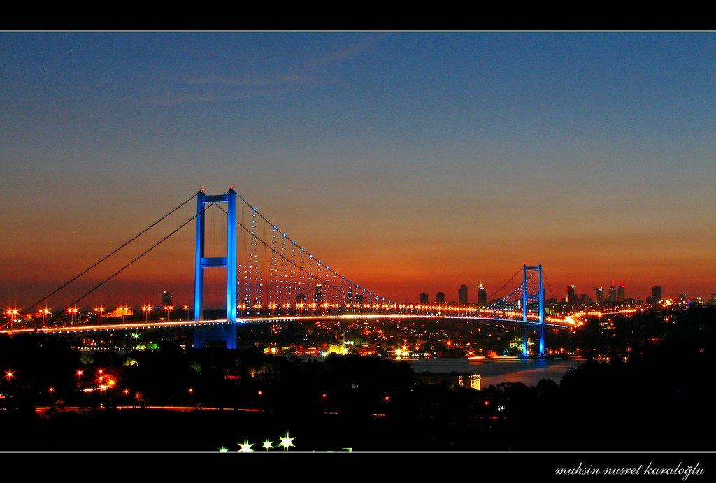 güzel boğaz köprüsü