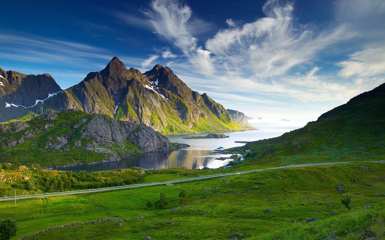 güzel dağ manzarası