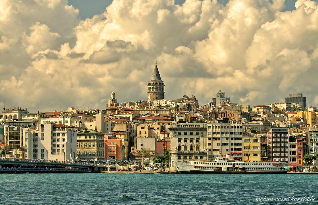 galata kulesi ve istanbul