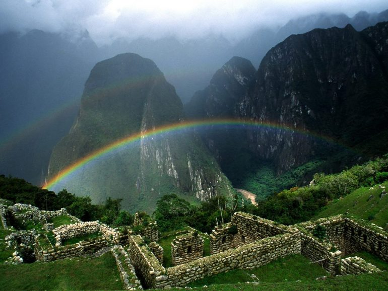Dünya'nın yedi harikasından biri(Machu Picchu)