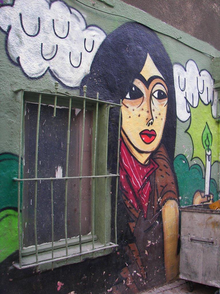 graffiti çalışmaları