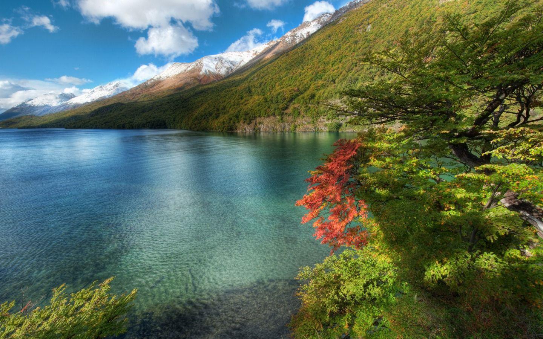 hdr göl manzarası