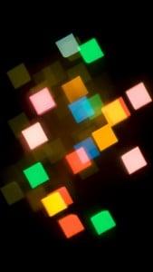 iPhone 5 Soyut Işıklar Arkaplan 1