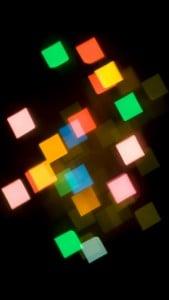 iPhone 5 Soyut Işıklar Arkaplan 3