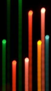 iPhone 5 Soyut Işıklar Arkaplan 6