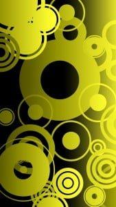 iPhone 5 Wallpaper Colorful Circles 6
