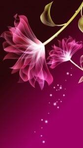 iPhone 5 Çiçekli Duvar Kağıdı 1