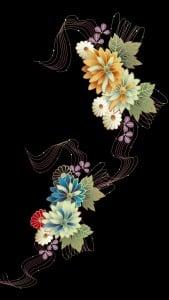iPhone 5 Çiçekli Duvar Kağıdı 4