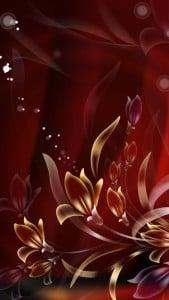 iPhone 5 Çiçekli Duvar Kağıdı 5