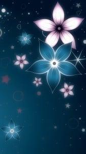 iPhone 5 Wallpaper Digital Flower 6