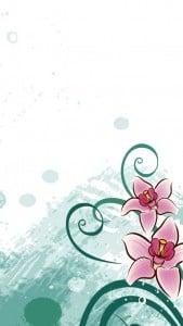 iPhone 5 Çiçekli Duvar Kağıdı 6