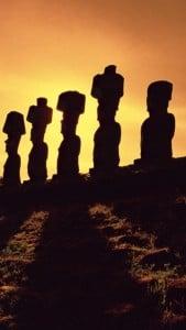 iPhone 5 Paskalya Adası Duvar Kağıdı 3
