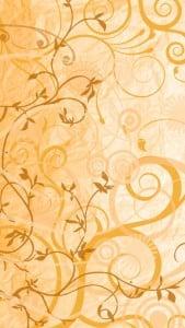 iPhone 5 Çiçek Desenli Arkaplan 1