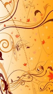 iPhone 5 Çiçek Desenli Arkaplan 2