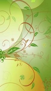 iPhone 5 Çiçek Desenli Arkaplan 7