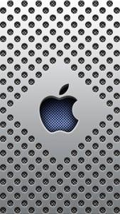 iPhone 5 Metal Görünümlü Wallpaper 1