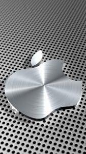 iPhone 5 Metal Görünümlü Wallpaper 2