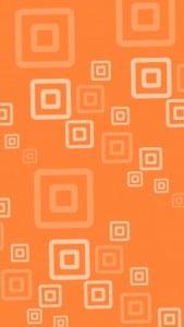 iPhone 5 Wallpaper Orange Pattern 1