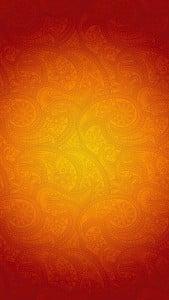 iPhone 5 Wallpaper Orange Pattern 6