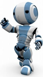 iPhone 5 Wallpaper Robot 3