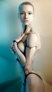 iPhone 5 Wallpaper Robot 5