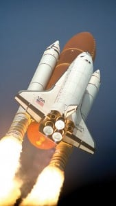 iPhone 5 Wallpaper Space Shuttle 6