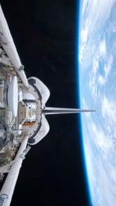 iPhone 5 Wallpaper Space Shuttle 9