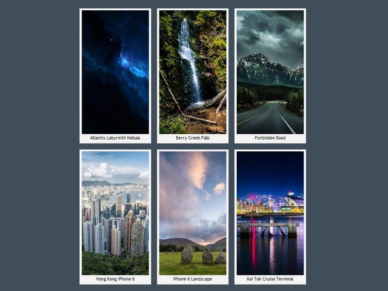 iPhone 6 Şehir Manzaraları
