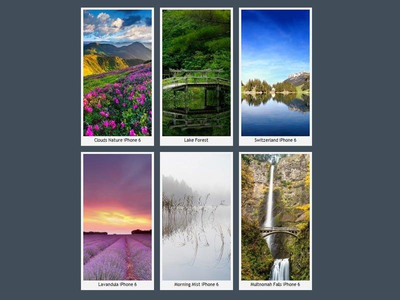 iPhone 6 Doğa Manzaraları