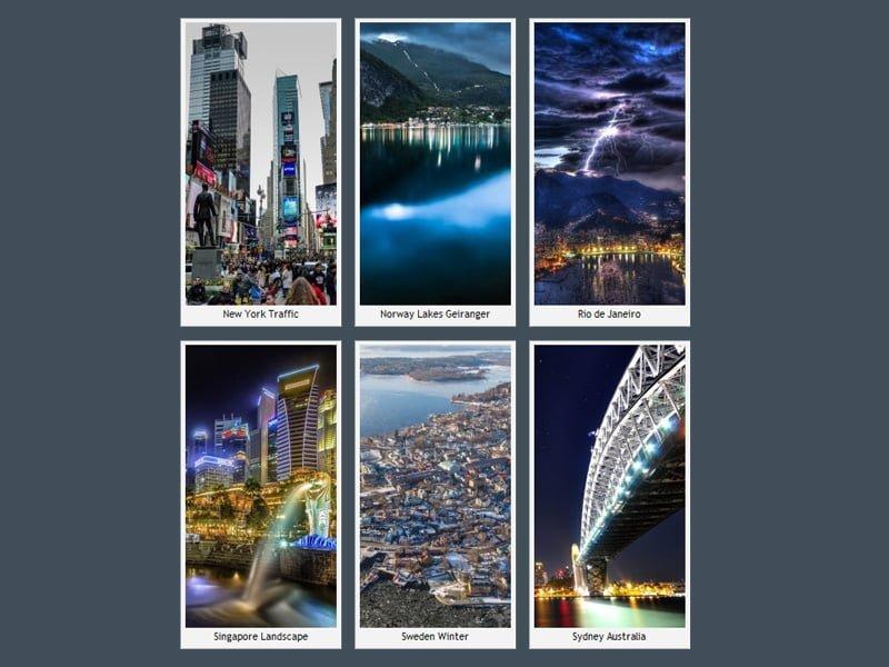 iPhone 6 Plus Şehir Manzaraları