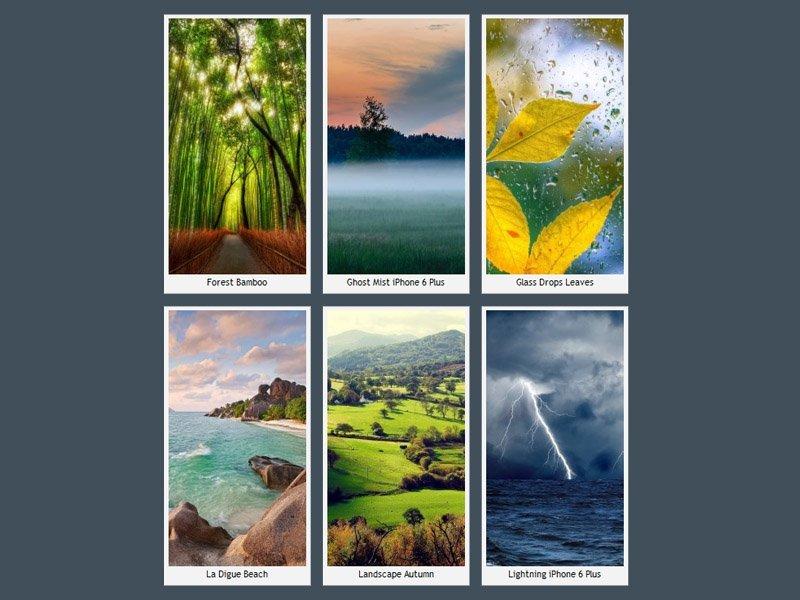 iPhone 6 Plus Doğa Manzaraları
