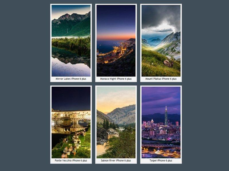 iPhone 6 Plus Manzaraları