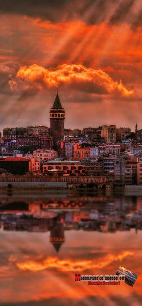 Galata Kulesi Manzarası iPhone 11
