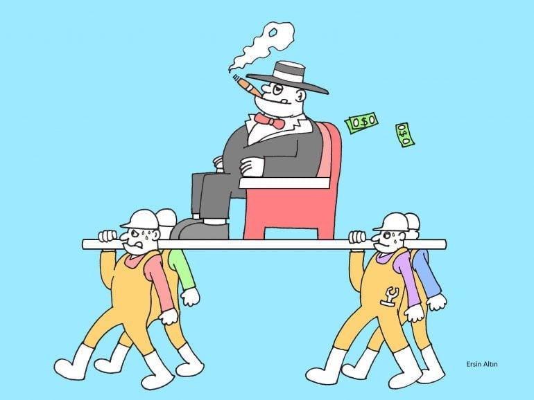 İşçiler ve Patron