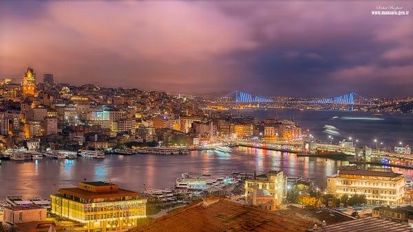İstanbul ışıl ışıl
