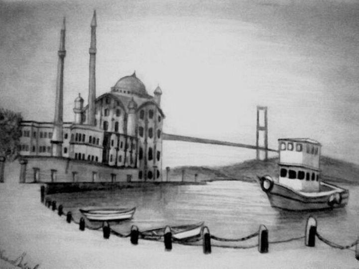 istanbul – karakalem