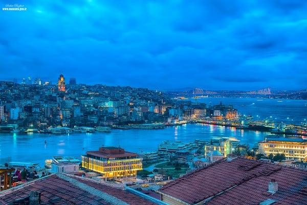 istanbul mavi gece