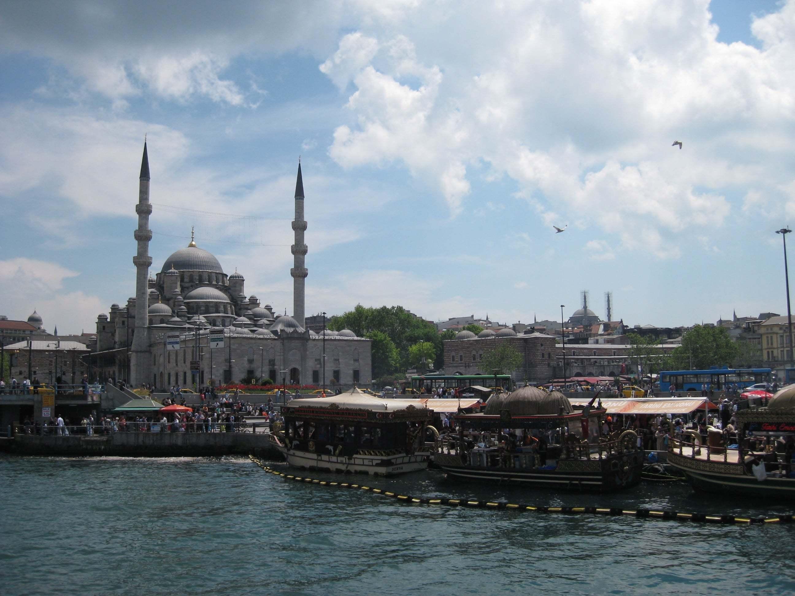 istanbul ve balıkçılar