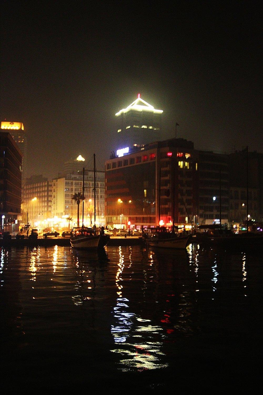 izmir gece manzarası