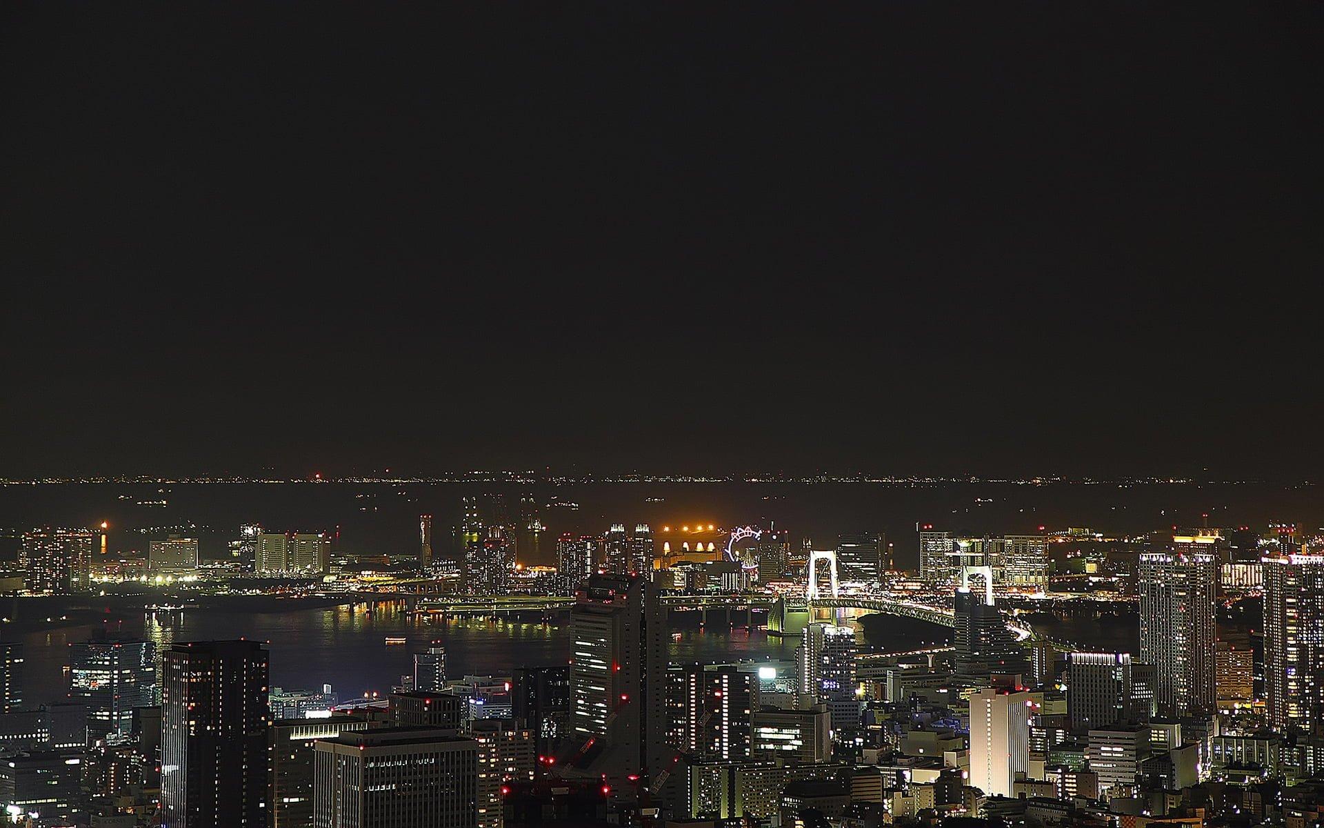 japonya gece manzarası