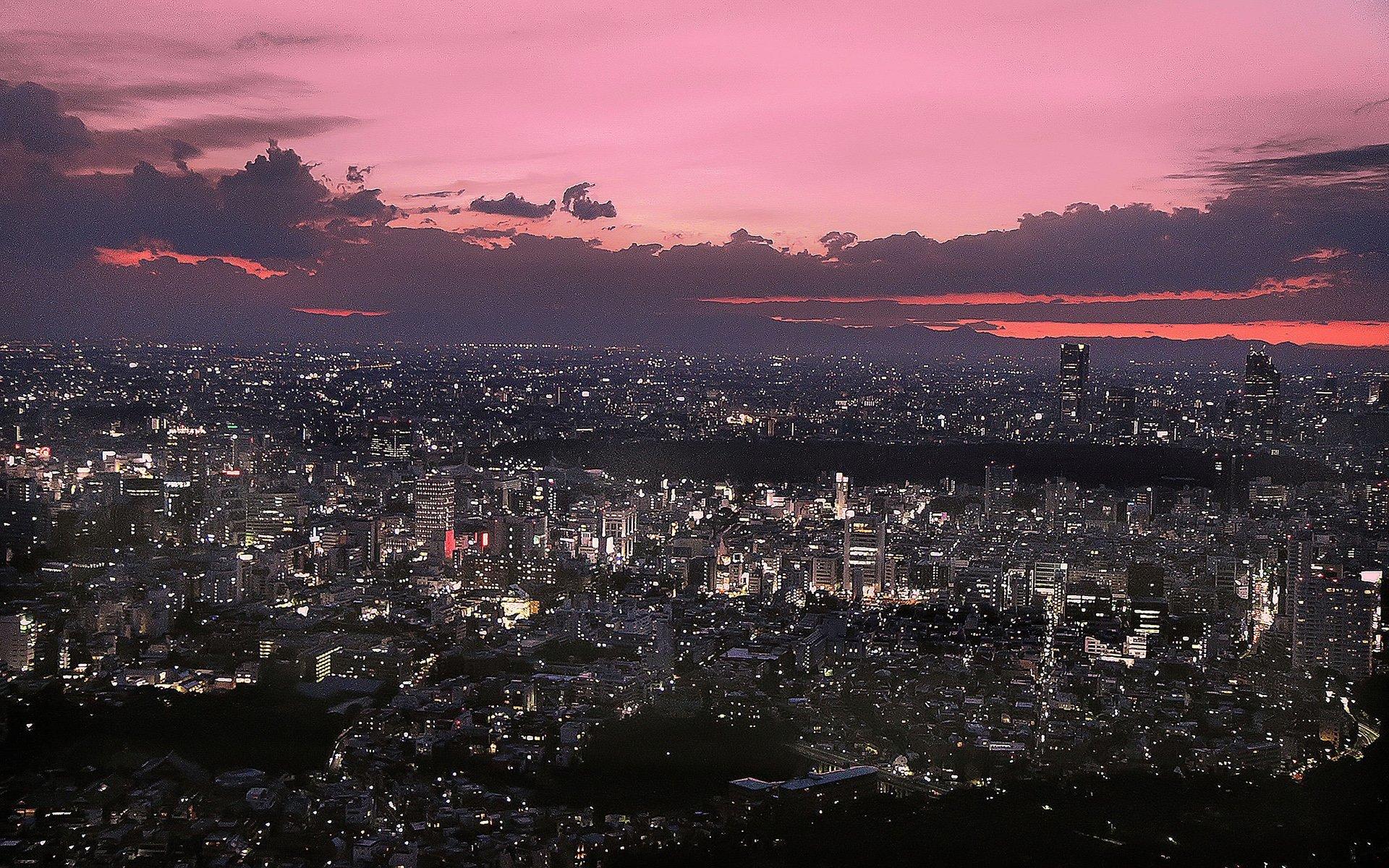japonya kızıl gökyüzü