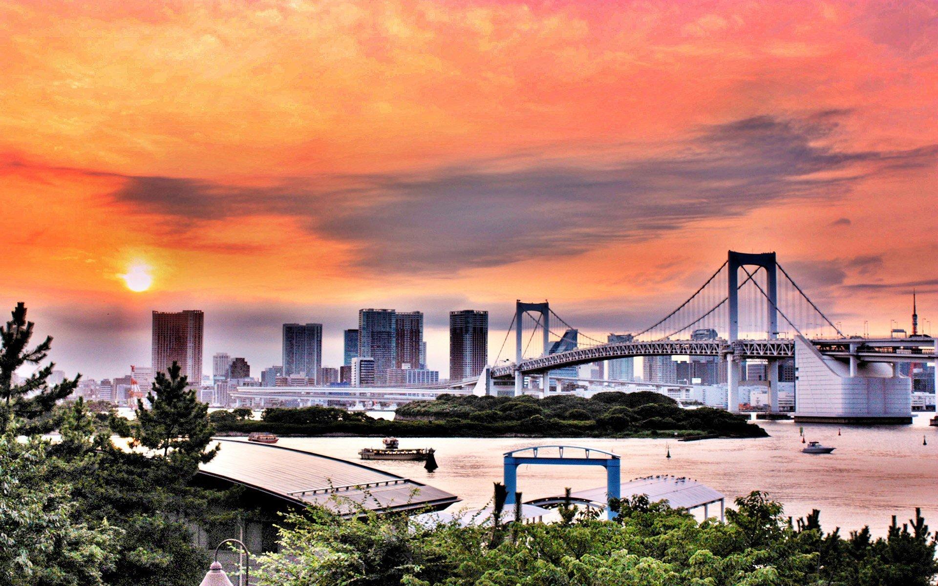 japonya tokyo şehri.